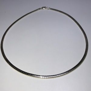 Beautiful sterling silver necklace made in Italy